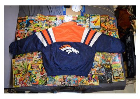 Rare NFL Denver Bronccos Puffer Outdoors Jacket