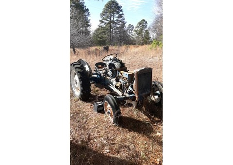 Antique Ford Golden Jubilee Tractor