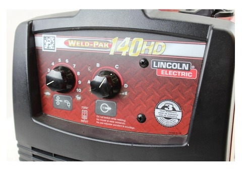 Lincoln wedlock 140hd welder
